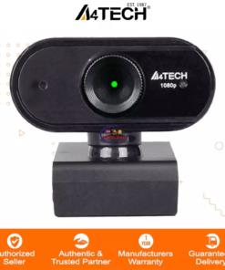 Computer Accessories & Peripherals Gadget A4TECH PK-925H 16MP 1080P Fhd Fixed Focus Webcam Black Enfield-bd.com