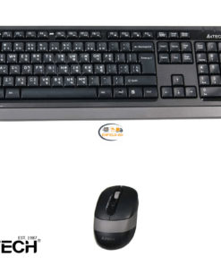 Computer Accessories & Peripherals Computers A4tech FG1010 Wireless Keyboard Mouse Combo With Bangla Enfield-bd.com