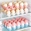 Kitchen & Dining Eggs Shelf Case Pink / Blue / Beige Enfield-bd.com